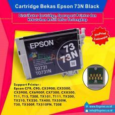 Cartridge Bekas Epson T0731 T0731N 73 73N Black