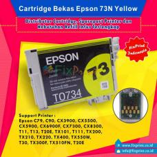 Cartridge Bekas Epson T0734 T0734N 73 73N Yellow