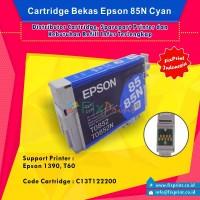 Cartridge Bekas Epson T0852 T0852N 85 85N Cyan