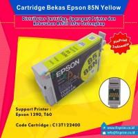 Cartridge Bekas Epson T0854 T0854N 85 85N Yellow