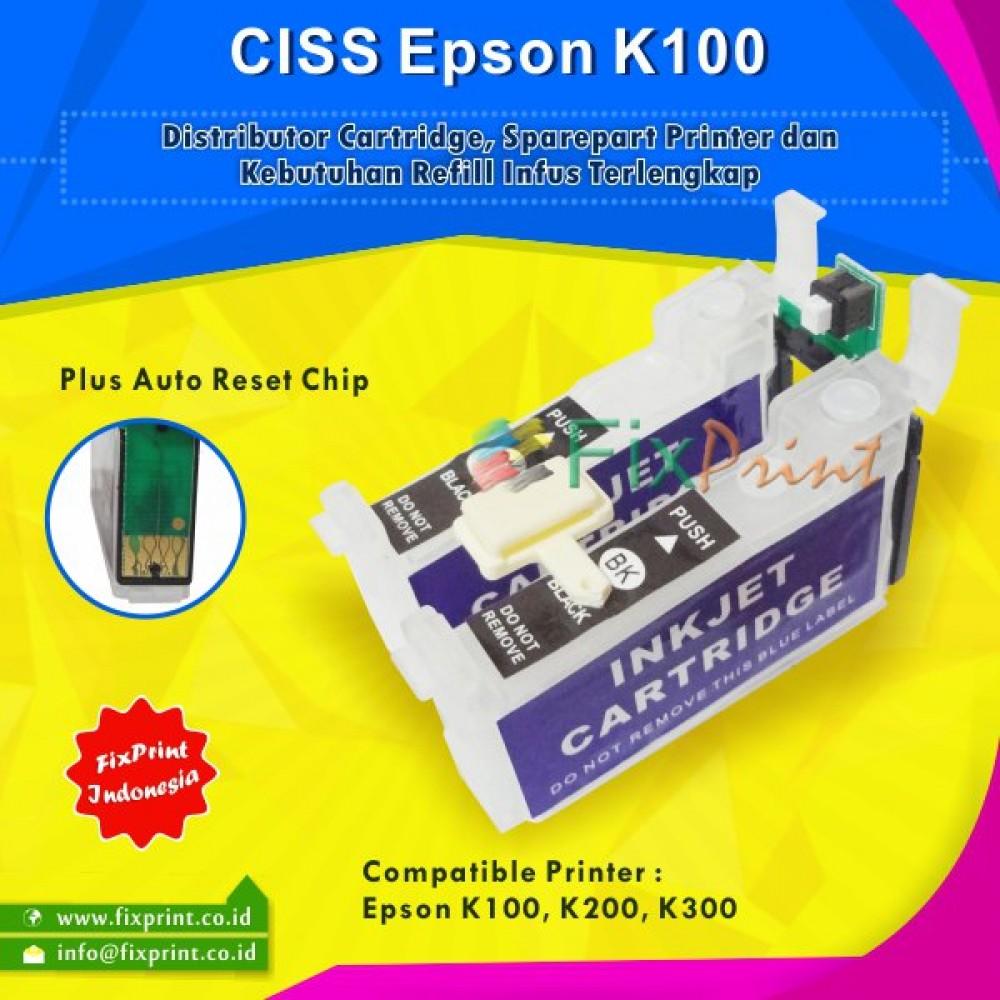 Cartridge CISS Epson T137 / T1371, CISS K100 K200 K300