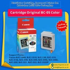 Cartridge Original Canon BC05 BC-05, Tinta Printer Canon BJC-1000 BJC-1010 BJC-150 BJC-210 BJC-210j BJC-220 BJC-240 BJC-240j BJC-240l BJC-250 BJC-251 BJC-255 BJC-255SP
