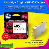 Cartridge Original HP 685 Yellow CZ124AA, Tinta Printer HP Deskjet 4615 4625 3525 5525 6525