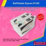Cartridge Refillable Epson T137 T1371, Refillable Epson K100 K200 K300