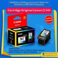 Cartridge Tinta Original Canon CL741 CL-741 CL 741 Color, Cartridge Printer Canon TS5170 MG2170 MG2270 MG3170 MG3270 MG3570 MG3670 MG4170 MG4270 MX377 MX397 MX437 MX457 MX477 MX517 MX527 MX537 New Original