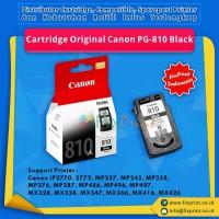 Cartridge Tinta Original Canon PG810 PG-810 PG 810 Black, Cartridge Printer Canon iP2770 iP2772 MP237 MP245 MP258 MP268 MP276 MP287 MP486 MP496 MP497 MX328 MX338 MX347 MX357 MX366 MX416 MX426 New Original