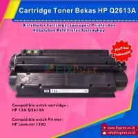 Cartridge Toner Bekas HP 13A Q2613A HP Laserjet 1300