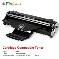 Cartridge Toner Compatible Fuji Xerox 3124, Printer Xerox Phaser 3124 3125 3117 3122