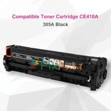 Cartridge Toner Compatible HP CE410A 305A Black, Printer HP LaserJet Pro 300 Color M351a MFP M375nw M451dn 400 Color M451dw M451nw MFP M475 M475dn M475dw