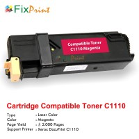 Cartridge Toner Compatible Printer Fuji Xerox Docuprint C1110 Magenta