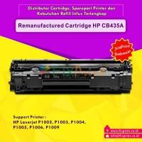 Cartridge Toner Remanufactured HP CB435A 35A, Printer HP Laserjet P1002 P1003 P1004 P1005 P1006 P1009