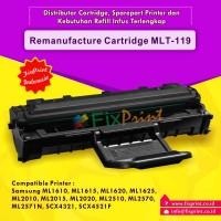 Remanufacture Cartridge Samsung MLT-119 MLT-D119S, Cartridge ML 2010 ML-1610