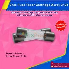 Chip Fuse Toner Cartridge Xerox Phaser 3124 3117 3122 3125, Chip Fuse Reset Printer Xerox 3124
