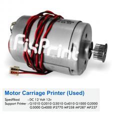 Dinamo Carriage Canon G1010 G2010 G3010 G4010 G1000 G2000 G3000 G4000 iP2770 2770 MP258 MP287 MP237 Bekas Like New, Carriage Motor CR DC 12 Volt 12v