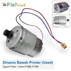 Dinamo Motor Bawah Canon MP145 MP198 MX308 MX318 IP1880 IP1980 1880 1980 Bekas Like New DC 12 Volt 12v
