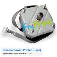 Dinamo Motor Bawah Epson R230 R230x R210 R350 Bekas Like New