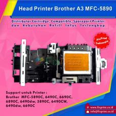Head Printer Brother A3 MFC-5890cn 5890c 6490cw 6490dw 6890cdw DCP-6690c Original, Printhead Brother MFC5890