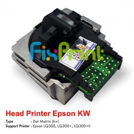 Head Printer Epson LQ-300 LQ300 LQ300+ LQ300+II Original Refurbished, Printhead Epson LQ300