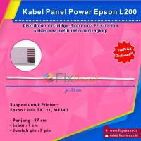 Kabel Flexible Panel Power Epson L200 tx121 ME340