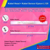 Kabel Head Epson L120, Cable Flexible Epson L120 + Kabel Sensor (2 Pair)