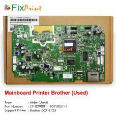 Board Printer Brother DCP-J125, Mainboard Brother DCP-J125, Motherboard Brother J125 Used