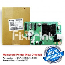 Board Printer Canon G1010, Mainboard Canon G1010, Motherboard G1010 New Original, Part Number QM7-5452 (QM4-5433)