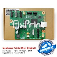 Board Printer Canon G3010, Mainboard Canon G3010, Motherboard G3010 New Original, Part Number QM7-5454 (QM4-5414)