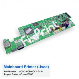 Board Printer Canon iP100, Mainboard Canon IP100, Motherboard Printer IP-100 Used