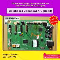 Board Printer Canon iX6770, Mainboard IX 6770, Motherboard Canon 6770 Used, Part Number QM7-3289 (QM4-2632)