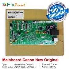 Board Printer Canon iX6870, Mainboard IX 6870, Motherboard Canon 6870 New Original, Part Number QM7-3238-000