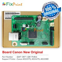 Board Printer Canon MG2470, Mainboard Canon MG2470, Motherboard MG2470 New Original, Part Number QM7-2851 (QK19001)
