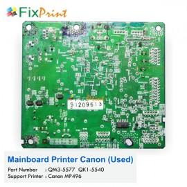 Board Printer Canon MP496, Mainboard Canon MP-496, Motherboard MP496 Used