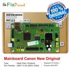 Board Printer Canon MX497, Mainboard Mx497, Motherboard Canon MX 497 New Original, Part Number QM7-4156 (QM4-3466)