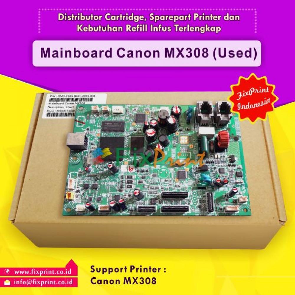 Board Printer Canon PIXMA MX308, Motherboard MX308, Mainboard Canon MX308 Bekas Like New