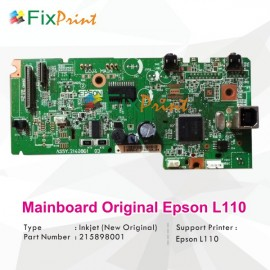 Board Printer Epson L110, Mainboard L110, Motherboard L110 New Original, Part Number Assy 2140861