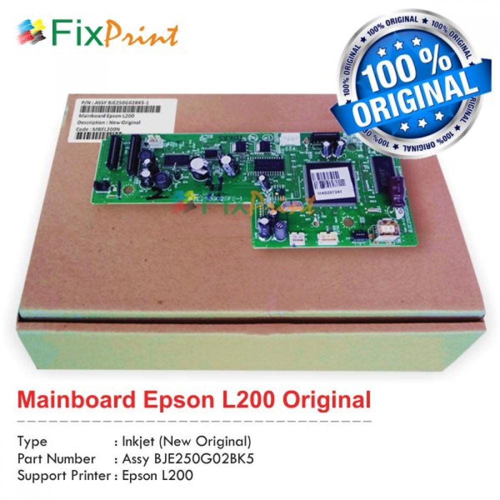 Board Printer Epson L200, Mainboard L200, Motherboard L200 New Original, Part Number Assy BJE250G02BK5
