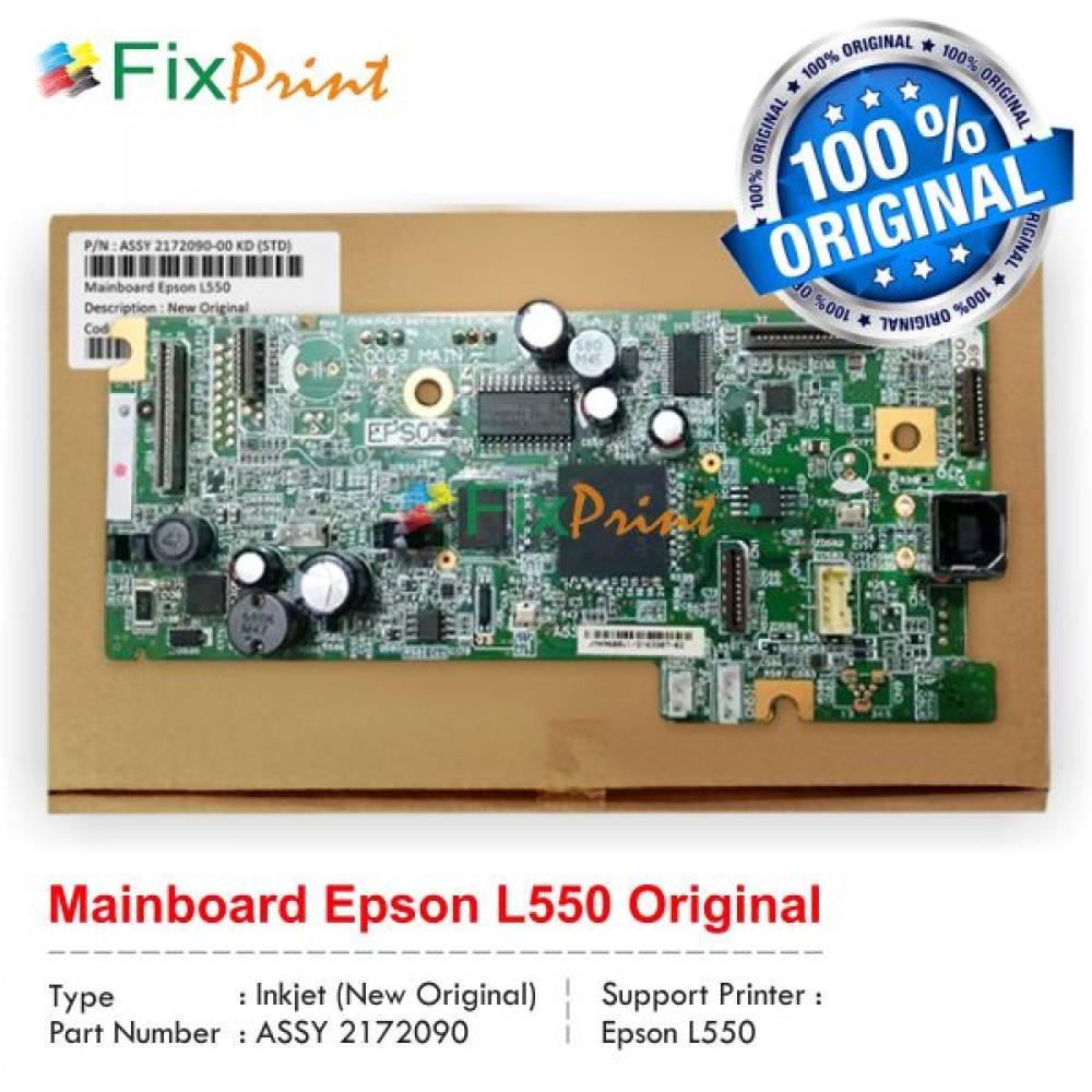 Board Printer Epson L550, Mainboard L550, Motherboard L550 New Original, Part Number 2172091-00