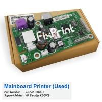 Board Printer HP Deskjet K209g, Mainboard HP Deskjet K209g, Motherboard Printer K209G Used
