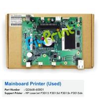 Board Printer HP Laserjet P3015 3015, Mainboard HP Laserjet P3015, Motherboard HP p3015 Used