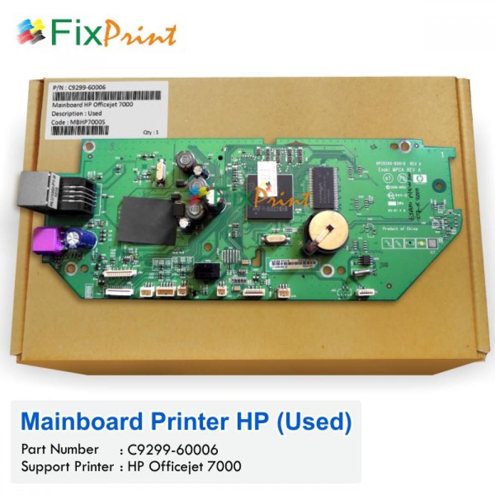 Board Printer HP Officejet 7000, Mainboard HP 7000, Motherboard HP OJ 7000 Bekas Like New