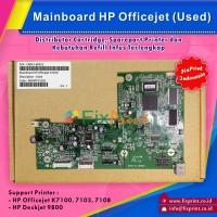 Board Printer HP Officejet K7100 K7103 K7108, Mainboard HP K7100, Motherboard K7100 Bekas Like New