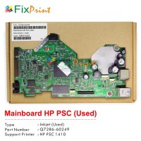 Board Printer HP PSC 1410, Mainboard HP PSC 1410, Motherboard HP 1410 Used, Part Number Q7286-60249