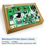 Mainboard Epson R270 Chipless Upgrade L800, Board Printer Epson R270 Chipless, Motherboard R270 Chipless Bekas Like New