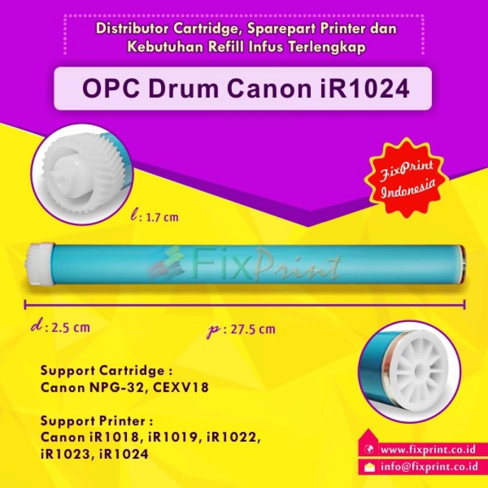 OPC Drum Toner Cartridge Canon NPG-32 C-EXV18, Printer Canon iR1018 iR1019 iR1022 iR1023 iR1024