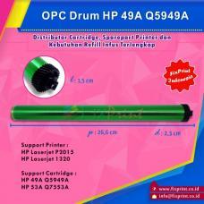 OPC Drum Toner Cartridge HP 49A Q5949A 53A Q7553A, HP LaserJet 1160 1320 1320n 1320tn 3390 3392 M2727 P2014 P2015 Canon LBP-3310 3370