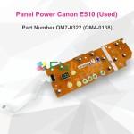 Panel Power Canon E510 + Kabel Flexible Used