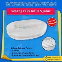 Selang CISS Infus Modif 5 Jalur Roll
