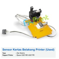 Sensor Kertas Belakang Epson LQ2170 LQ2180 LQ2190 Used, Paper Sensor Printer LQ-2180 LQ-2190 Used