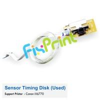 Sensor Timing Disk / Pembaca Sensor Encoder Bulat Canon iX6770 Bekas Like New