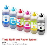 Tinta Refill Art Paper Epson Cyan 1 Liter